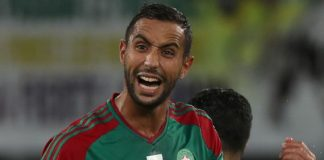 Medhi Benatia of Morocco Photograph by Chris Ricco/BackpagePix)