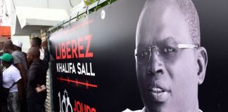 Khalifa Sall was elected to parliament last year even though he was in detention