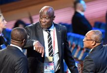The president of the DR Congo Football Federation (Fecofa) Constant Omari