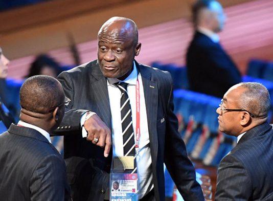 The president of the DR Congo Football Federation (Fecofa) Constant Omari