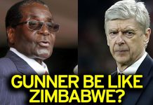Robert Mugabe and Arsene Wenger