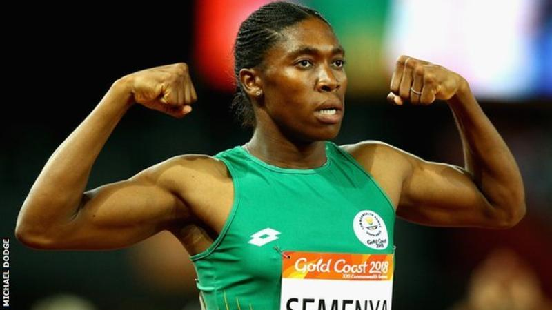Caster Semenya is a two-time Olympic champion and three-time world champion