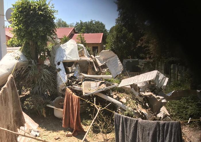 Plane crashes into Midrand house, killing two