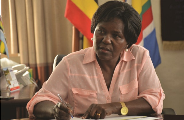 Uganda's Works and Transport Minister Monica Azuba Ntege