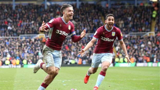 Grealish went on to score the winning goal for Aston Villa