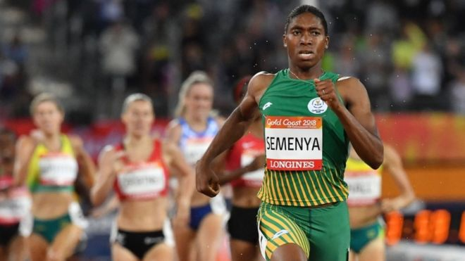 South African athlete Caster Semenya has been prevented from competing for nearly a year