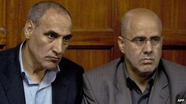 Sayed Mousavi (L) and Ahmad Mohammed were convicted in 2013 (Picture by AFP)