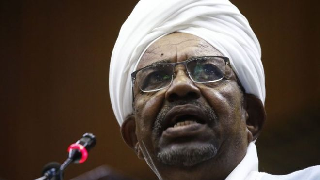 Mr Bashir has not been photographed since he was ousted from power