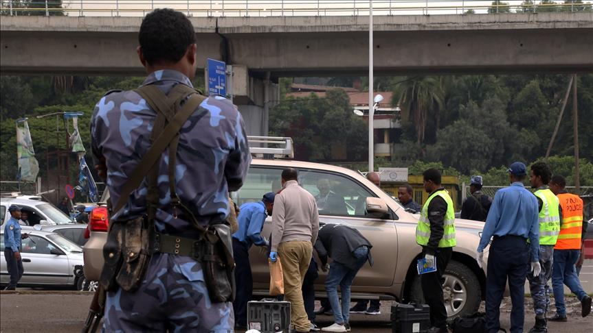 Police in Ethiopia