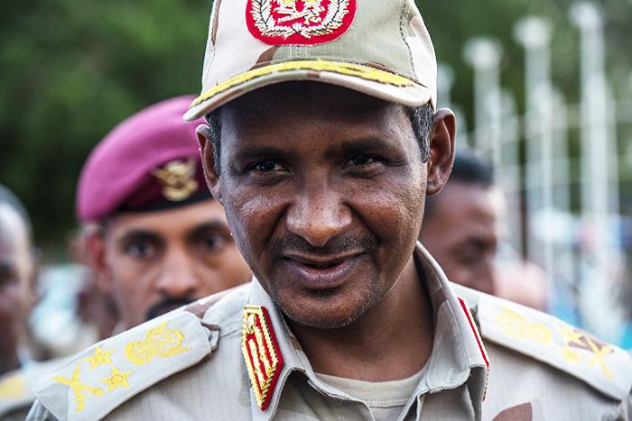 "Mohamed Hamdan ""Hemeti"" Dagolo is the vice-president of Sudan's ruling military junta"