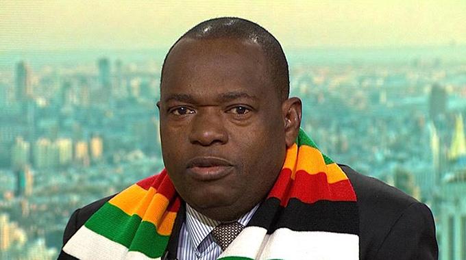 Zimbabwe's Foreign Minister Sibusiso Moyo