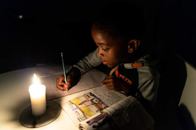 The country has been suffering severe power cuts