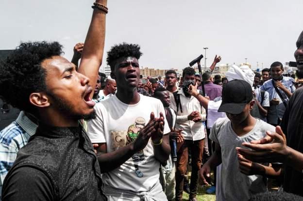sudan protess